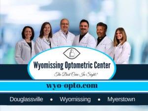 eye doctor reading pa